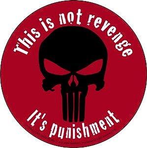 Book/Movie Sticker - This Is Not Revenge, It's Punishment: Automotive