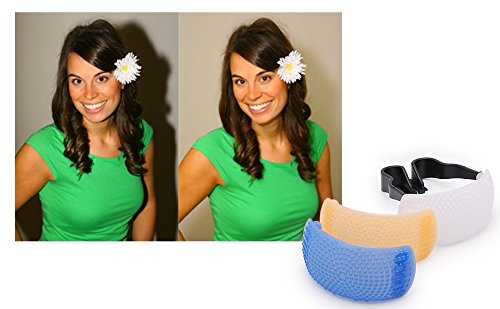 3 Color Pop Up Hot-Shoe Flash Diffuser Set for DSLR Cameras (CANON, NIKON)  available at amazon for Rs.110