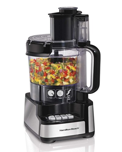 Hamilton Beach 70725 12-Cup Stack and Snap Food Processor Powerful 450 Watt (Food Processor 70725 compare prices)