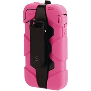 Survivor Extreme Duty Case with Belt Clip for iPhone 4 - Pink