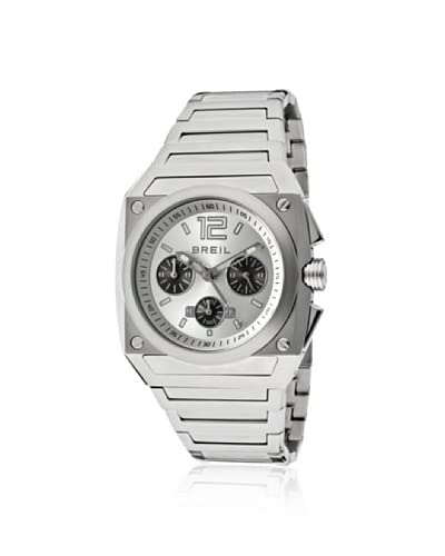 Breil Milano Men's TW0690 Chrono Analog Silver Dial Watch