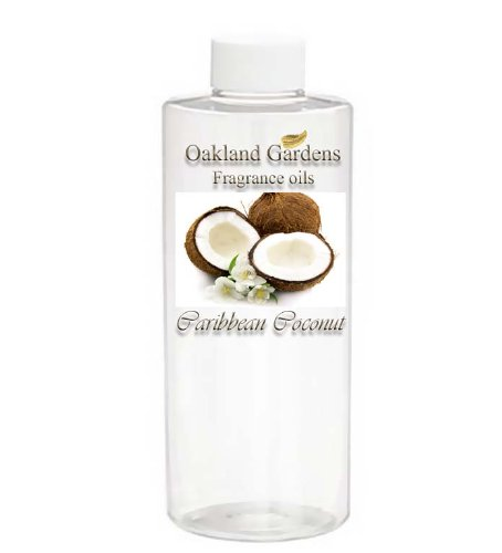 Caribbean Coconut Fragrance Oil - Tropical Twist Of Coconut Milk Cool Vanilla - By Oakland Gardens front-932106