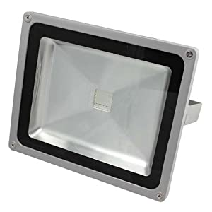 50W Cool Pure White Led Floodlight Lamp 85v-265v Floodlight Outdoor Spotlight Flood Wash Light USA