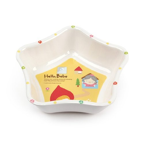 Lock&Lock Hello Bebe Storytelling Educational Design Baby Star Shaped Soup Bowl, Small