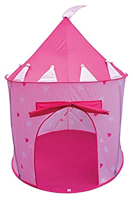 Princess Castle Fairy House Girls Pink Play Tent by POCO DIVO from POCO DIVO