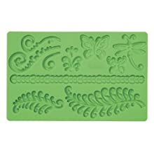 Wilton Fondant And Gum Paste Silicone Mold Ferns