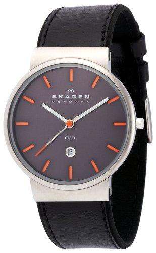 SKAGEN (スカーゲン) 腕時計 basic leather mens 351XLSLBMO ケース幅: 36mm メンズ [正規輸入品]