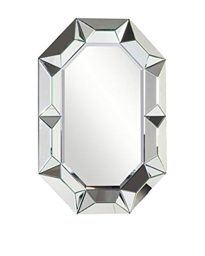 Modern Geometric Mirror, Clear
