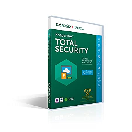 Kaspersky Total Security 2016 | 3 Devices |  1 Year