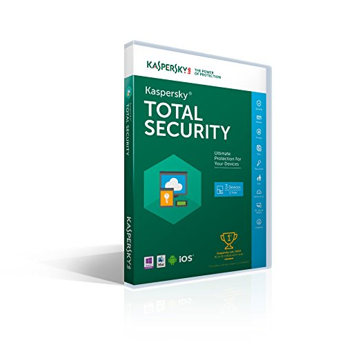 Kaspersky Total Security 2016 | 3 Devices |  1 Year [Key code] (Kaspersky compare prices)