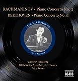 Vladimir Horowitz plays Beethoven - Piano Concerto No 5; Rachmaninov - Piano Concerto No 3