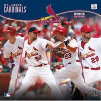 St. Louis Cardinals Team Calendar