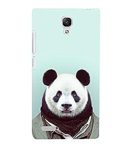 Cute Balu Dress Up Cute Fashion 3D Hard Polycarbonate Designer Back Case Cover for Xiaomi Redmi Note Prime