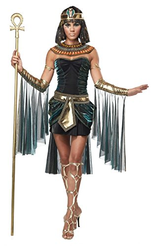 Mocoz Women's Egyptian Goddess Costume