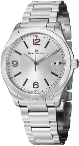 Maurice Lacroix MI1018-SS002-130 Mens Miros Steel Watch