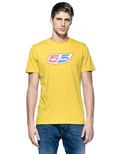 Diesel T-Shirt Manica Corta Classic [Senape]