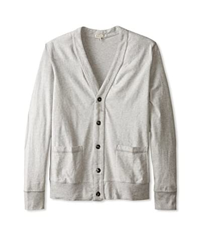 Mod-O-Doc Men's Sueded Jersey Cardigan