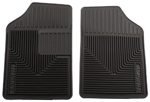 Husky Liners Custom Fit Heavy Duty Rubber Front Floor Mat - Pack Of 2 (Black)
