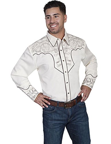 scully-paisley-western-shirt-cream-xl