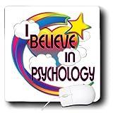 mp_166792_1 Dooni Designs - Believe In Dreamy Belief Designs - I Believe In Psychology Cute Believer Design - Mouse Pads