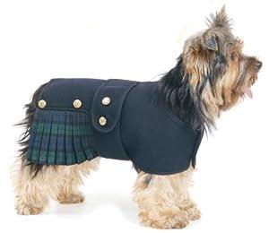 Dogs & Co Tartan Dog Kilt, Small, 12-inch/ 30 cm, Black Watch