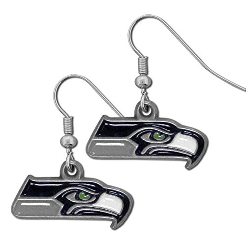 NFL-Seattle-Seahawks-Dangle-Earrings