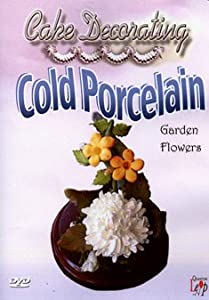 cake decorating cold porcelain garden flowers