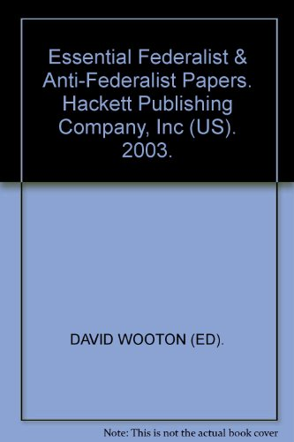 federalist and anti federalist papers