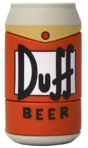 Molded USB - Duff Beer Can