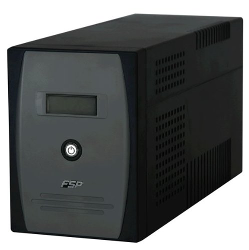 FSP 2000VA UPS 4x IEC 2x UK RJ11 RS232 USB Socket