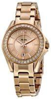 Fossil Women's ES2889 Riley Rose Gold Dial Watch by Fossil