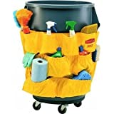 Rubbermaid Commercial RCP264200YW Brute Caddy Bag, Yellow