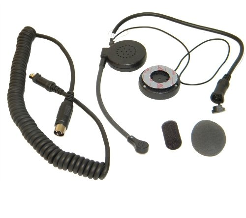 Air Rider Hc-4 Dynamic Headset W/ 7-Pin Curly Cord For All Harley Davidson'S