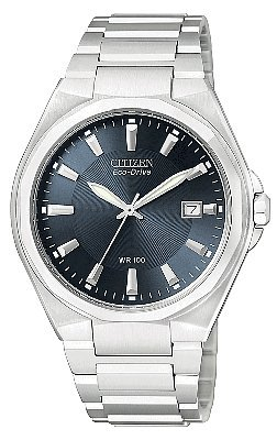 Citizen Men's BM6660-50L Eco-Drive Day-Date Stainless Steel Watch