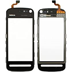 KolorEdge Nokia 5800 Original Touch Digitizer Replacement - Black
