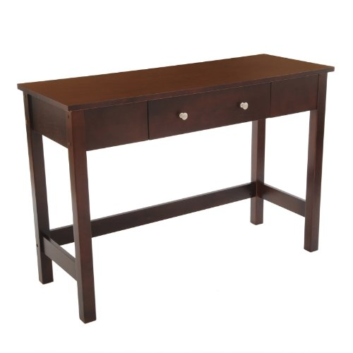 Cheap Bay Shore Sofa/Console Table with Full Wood Top and Drawer, Espresso (F68334)