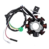 Newmotoz 8 Pole Magneto Stator Coil Gy6 150 150cc 125 125cc Scooter Moped Go Kart Atv