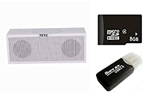 Portable Wireless Bluetooth Speaker with Built in Speakerphone & 8 hour Rechargeable Battery for iphone 4 5 5S 6 , samsung galaxy s4 note 3 ,mp6 from TETC