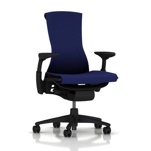 Herman-Miller-Embody-Chair-Fully-Adj-Arms-Graphite-FrameBase-Standard-Carpet-Casters