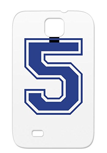 Golf Winner Number 5 Jersey Athletics Bike Symbols Space Baseball Placement Basketball Champion Tennis Soccer High School Team Sports College Shapes Handball Football Formula 1 Swim Run Tpu For Sumsang Galaxy S4 Navy Protective Case front-759482