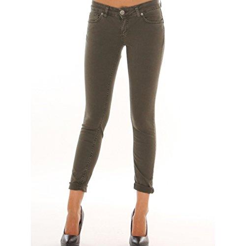 Jeans skinny in tela jeans di cotone stretch