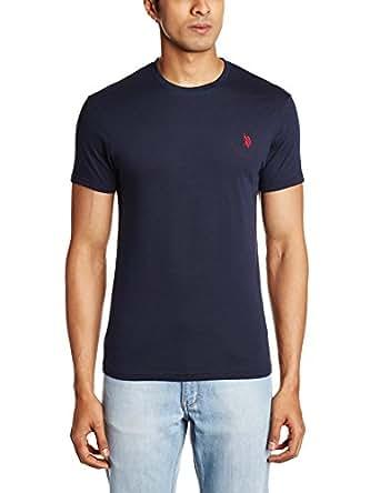 U s polo assn men 39 s crew neck cotton t shirt Us polo collar t shirts