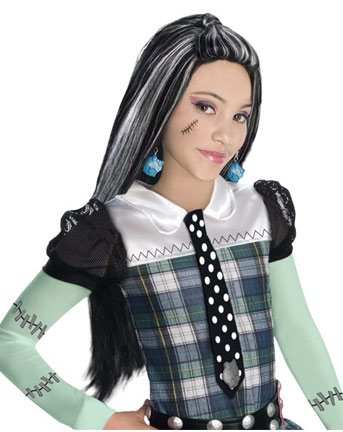 Rubies Monster High Frankie Stein Girls Wig