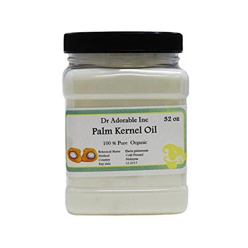 Palm Kernel Oil Pure Cold Pressed Organic 32 Oz / 1 Quart (Pressed Soap compare prices)