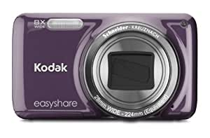 Kodak EasyShare M583 14 MP Digital Camera with 8x Optical Zoom and 3-Inch LCD - Purple