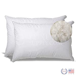 Extra soft down pillow set of 2 by exceptionalsheets for Best down pillows for stomach sleepers