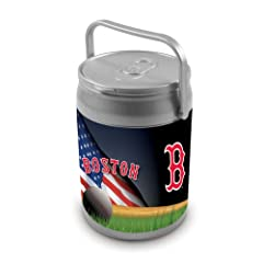 MLB Boston Red Sox Insulated Can Cooler by Picnic Time