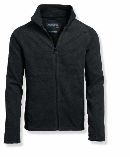Nimbus Mens New York Brushed Fleece Jacket Dark Grey 2XL