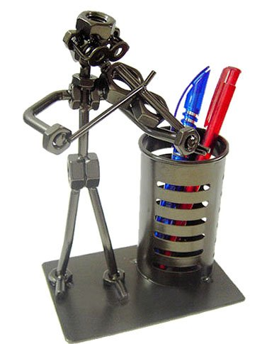 Music Lover Pen/pencil Holder Violinistdesk Office Novelty Gift Decoration