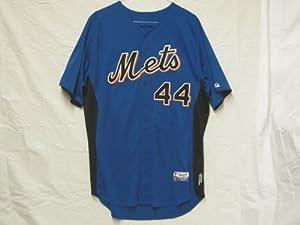 2011 New York Mets #44 Jason Bay Game Worn Batting Practice Jersey
